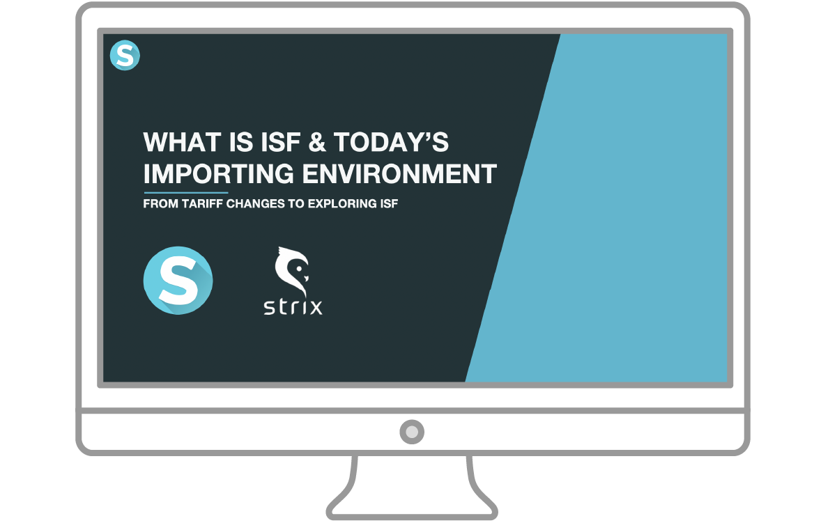 Presentation icon ISF and Tariff Changes in Todays Shipping Environment