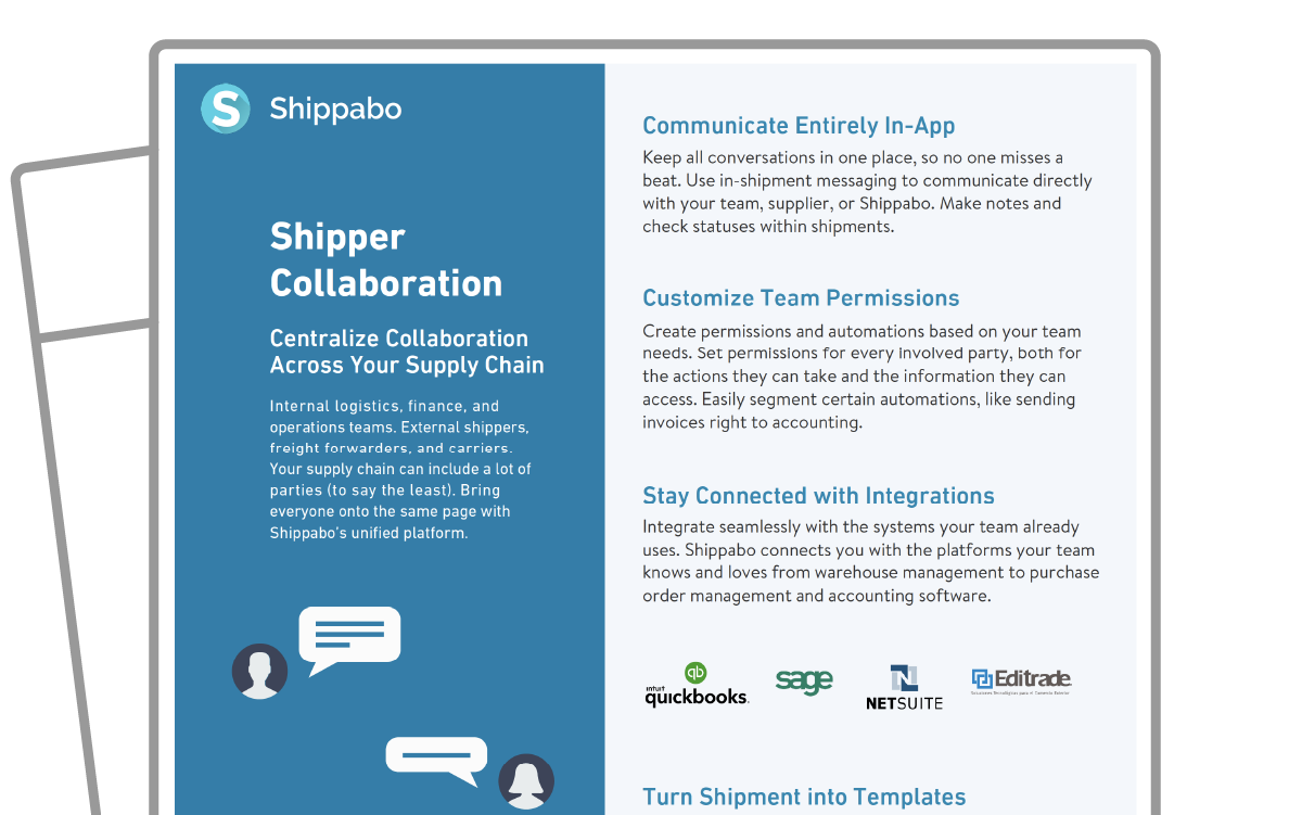 One Sheet icon Collaboration Tips to Improve Your Supply Chain Operations