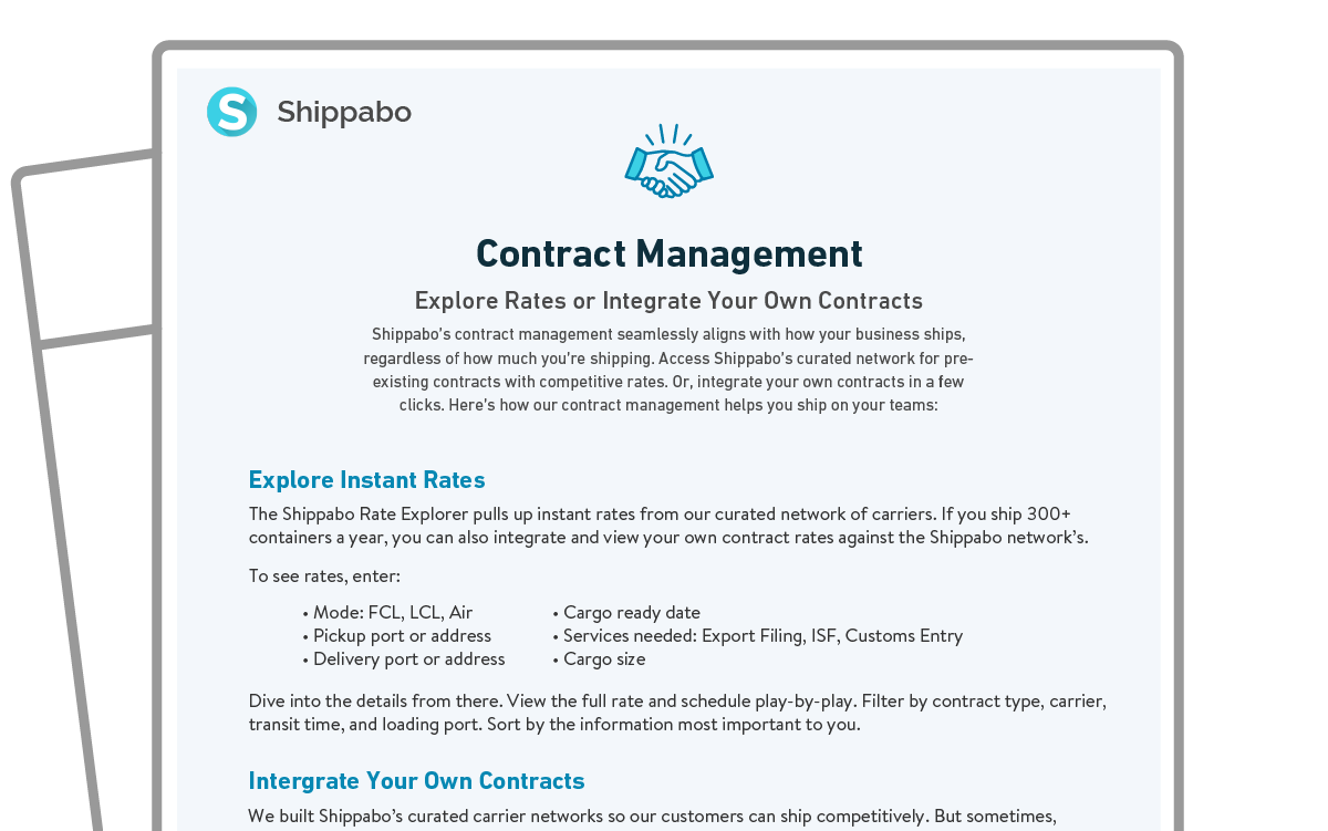 One Sheet icon Contract Management